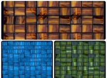 Natural Mosaic Luxury Art Deco Dark